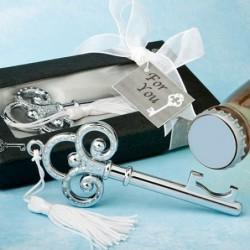 Alfiler novia perla blanca