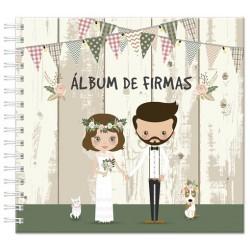 """NUEVO ALBUM DE FIRMAS """"NOVIOS"""
