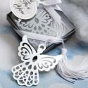 Alfiler novia plata forma flor