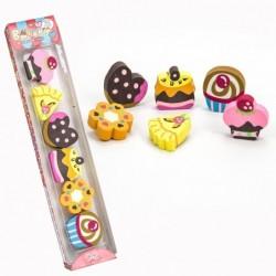 set gomas cupcakes caja de...