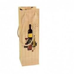 Bolsa de vino para regalo.